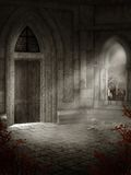 Oude kasteelkamer Royalty-vrije Stock Foto's