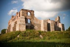 Oude kasteelruïnes Royalty-vrije Stock Afbeelding
