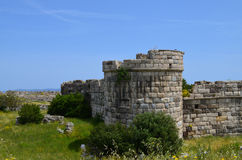 Oude kasteelruïnes Royalty-vrije Stock Foto