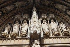 Oude kathedraal royalty-vrije stock afbeelding