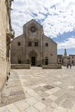 Oude kathedraal in Bitonto Italië Royalty-vrije Stock Afbeelding