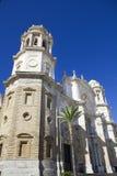 Oude Kathedraal op Cadiz. Royalty-vrije Stock Foto's