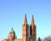 Oude Kathedraal van St Peter in Djakovo, Kroatië royalty-vrije stock foto