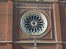 Oude Kathedraal van St Peter in Djakovo, Kroatië royalty-vrije stock fotografie