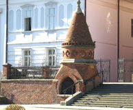 Oude Kathedraal van St Peter in Djakovo, Kroatië royalty-vrije stock foto's