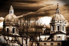 Kerk van oud Rome Stock Afbeeldingen