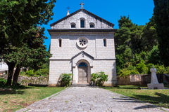 Oude Katholieke kerk Stock Foto