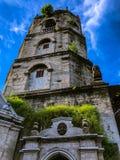 Oude Katholieke Kerk in Meycauayan, Bulacan, Filippijnen Stock Foto's