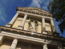Oude Katholieke Kerk St Vitus, Hilversum, Nederland Royalty-vrije Stock Afbeeldingen