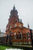 Oude Katholieke Kerk in Vladimir Stock Fotografie