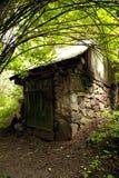 Oude kelder in het dorp van Europa Stock Afbeelding