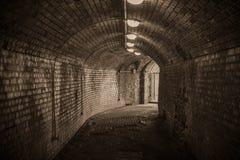 Oude Kenigsberg-kasteelingang Wereldoorlog IIfort Royalty-vrije Stock Foto's