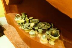 Oude keramiek royalty-vrije stock afbeelding