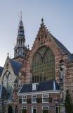 Oude Kerk,阿姆斯特丹 库存图片