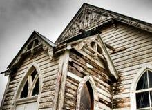 Oude kerk stock afbeelding