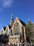 Oude-kerk Stockfotografie