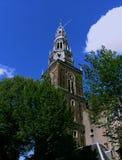 Oude Kerk-Amsterdão Fotografia de Stock