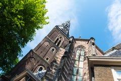 Oude Kerk, Amsterdam stock fotografie