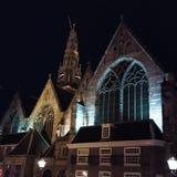 Oude Kerk in Amsterdam Lizenzfreies Stockfoto