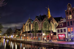 Oude Kerk, Amsterdam Royalty Free Stock Image