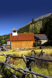 Oude kerk in Colorado Royalty-vrije Stock Foto
