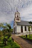 Oude kerk in de Faeröer stock foto