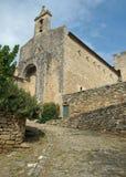 Oude Kerk in de Provence Stock Foto's