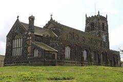 Oude kerk in Engeland Royalty-vrije Stock Foto