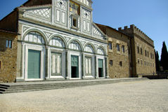 Oude kerk in Florence, Italië royalty-vrije stock afbeelding