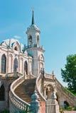 Oude Kerk in Gotische Stijl Stock Fotografie