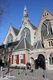 Oude Kerk i Amsterdam Arkivfoton