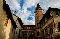 Oude kerk in Italië Stock Foto