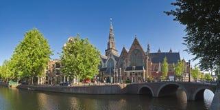Oude Kerk kościół, Amsterdam Obrazy Royalty Free