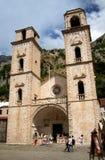 Oude kerk in Kotor royalty-vrije stock foto