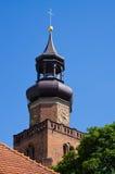 Oude kerk in Leszno, Polen Royalty-vrije Stock Afbeeldingen