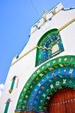 Oude kerk in Mexico Royalty-vrije Stock Fotografie