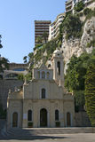 Oude kerk in Monaco Royalty-vrije Stock Fotografie