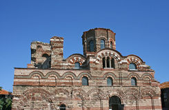 Oude kerk in Nessebar, Bulgarije Royalty-vrije Stock Fotografie