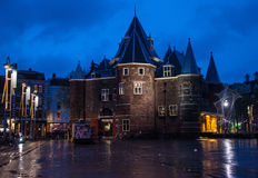 Oude Kerk (Old church) in Amsterdam Royalty Free Stock Images