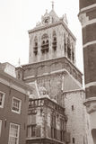 Oude Kerk - Old Church, Delft, Holland, Netherlands Royalty Free Stock Images
