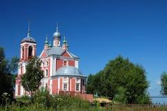 Oude kerk in Pereslavl. Een gouden ring van Rusland Royalty-vrije Stock Foto