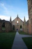 Oude kerk in Port Arthur, Tasmanige, Australië Royalty-vrije Stock Foto's