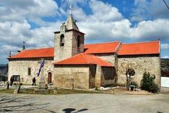 Oude kerk in Portugal Royalty-vrije Stock Afbeelding