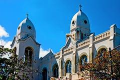 Oude kerk in Puerto Rico royalty-vrije stock fotografie