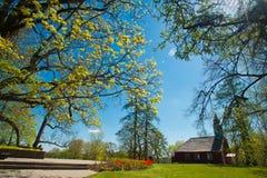 Oude kerk in Sigulda Royalty-vrije Stock Fotografie
