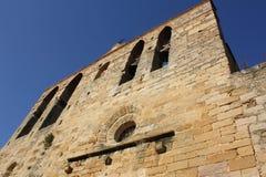Oude kerk in Spanje royalty-vrije stock foto's