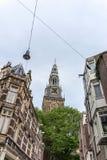 Oude Kerk & x28; Stary Church& x29; w Amsterdam, holandie Zdjęcia Stock