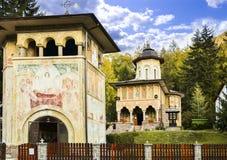 Oude kerk in Tusnad Roemenië Royalty-vrije Stock Afbeeldingen