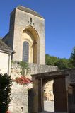 Oude kerk van heilige-Amand-van-Coly Royalty-vrije Stock Fotografie