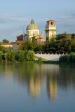 Oude kerk in Verona, Italië Royalty-vrije Stock Foto's